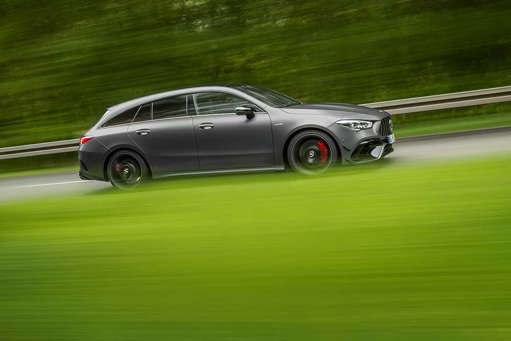 Mercedes-AMG lança CLA 4Matic+ Shooting Brake