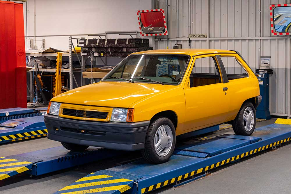 1987 Opel Corsa GT Manufacturing 508492